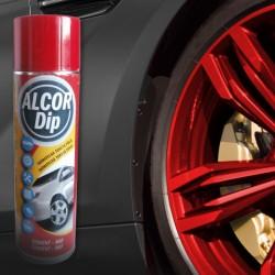 Set na kola ALCOR DIP červená lesklá