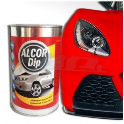 Set na auto ALCOR DIP červená lesklá